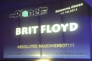 Brit Floyd im Gasometer