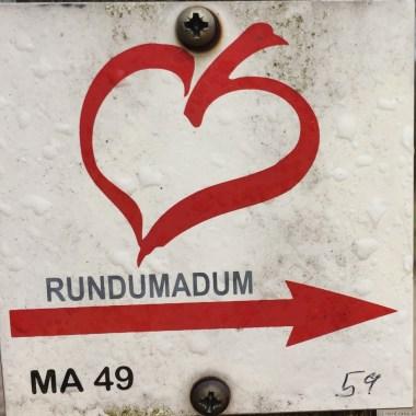 Schild Rundumadum