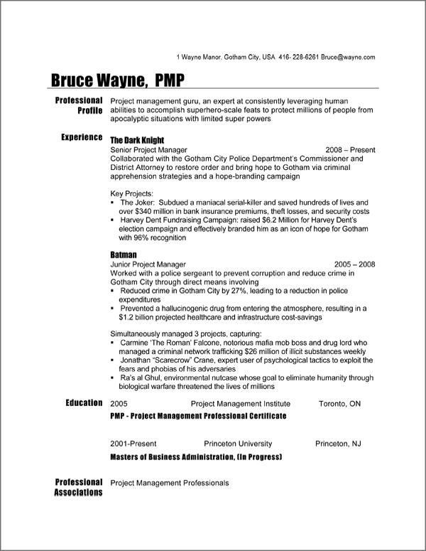 resume format canada 2012 abij