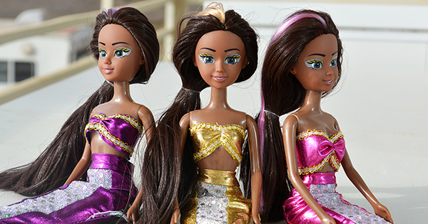 Black-Owned Toy Company Introduces First Ever Series of African American Mermaid Princess Dolls