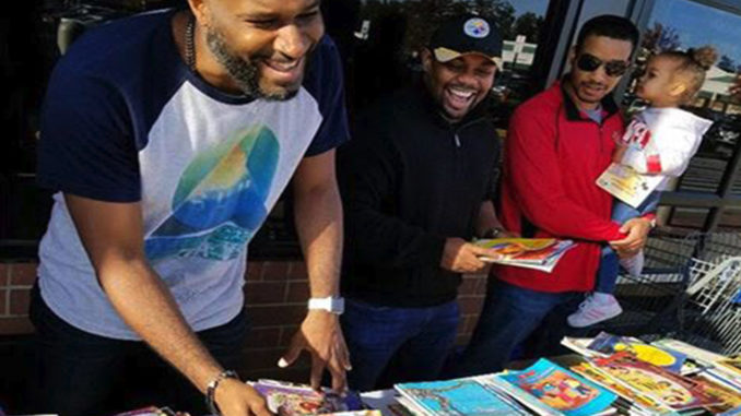 Group Run by Black Men Donates More Than 30,000 Books to Children