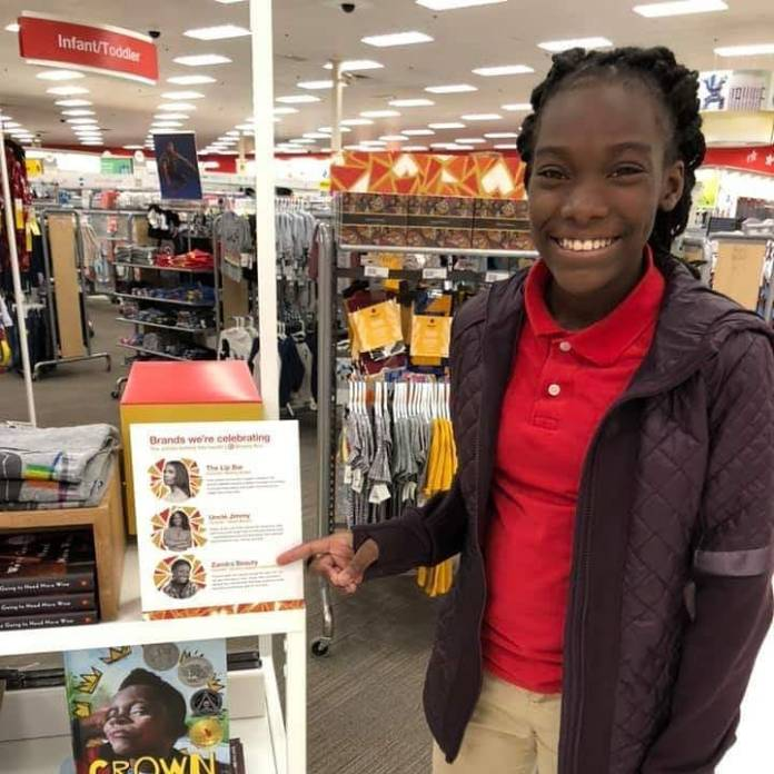 18-Year Old Black Teen Entrepreneur Signs Major Deal With Target Stores — Introduces Plant-Based Skincare Giftbox!