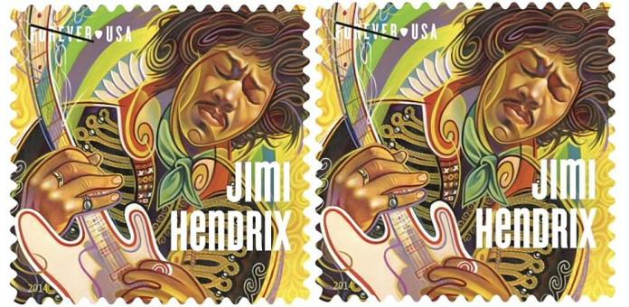 Jimi Hendrix Honored in Hometown of Seattle with Post Office Renamed in his Honor