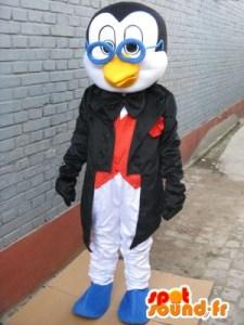 penguin-mascot-linux-glasses-costume-professor