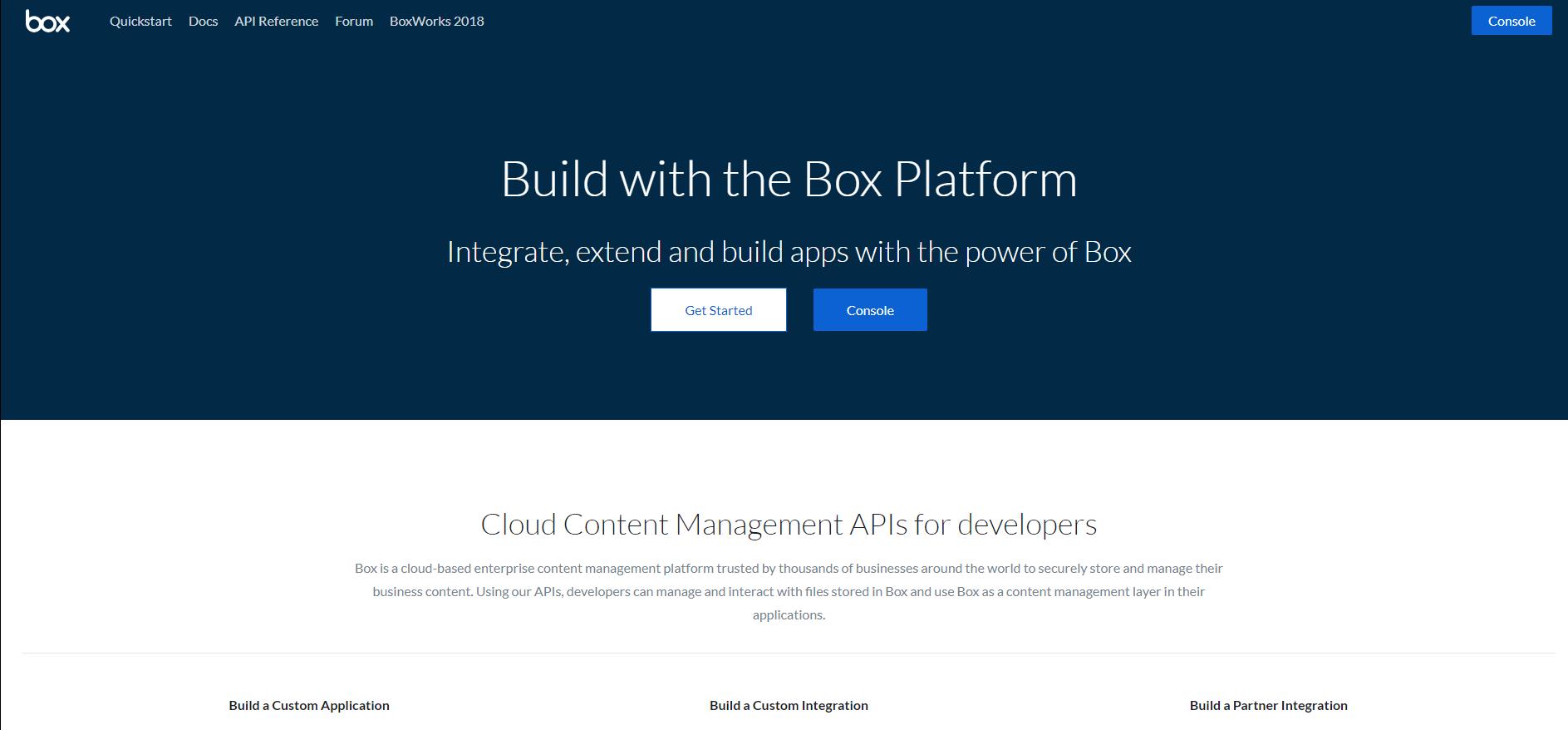 Box API on RapidAPI
