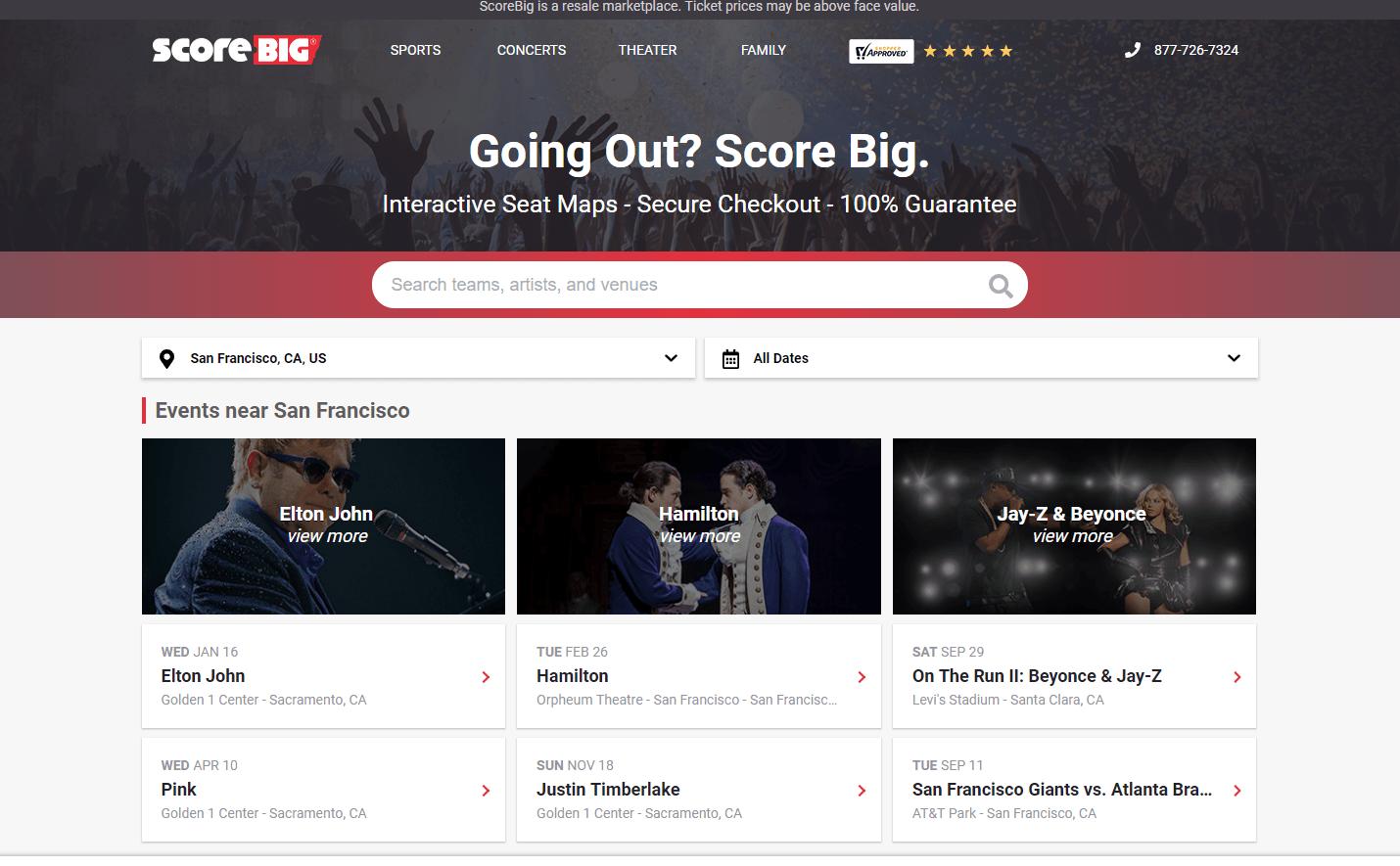 ScoreBig API