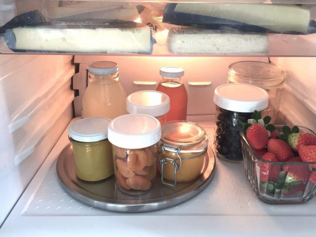Karussell im Kühlschrank enko