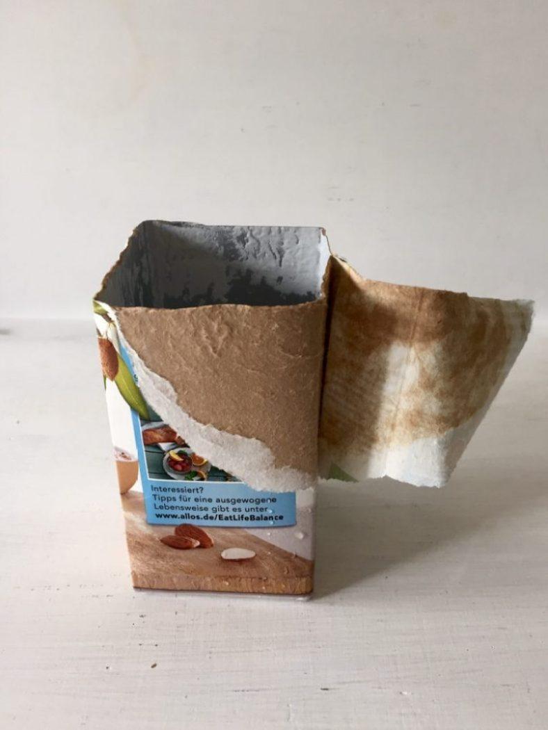 tetrapacks können zu schönen geschenke - verpackungen werden