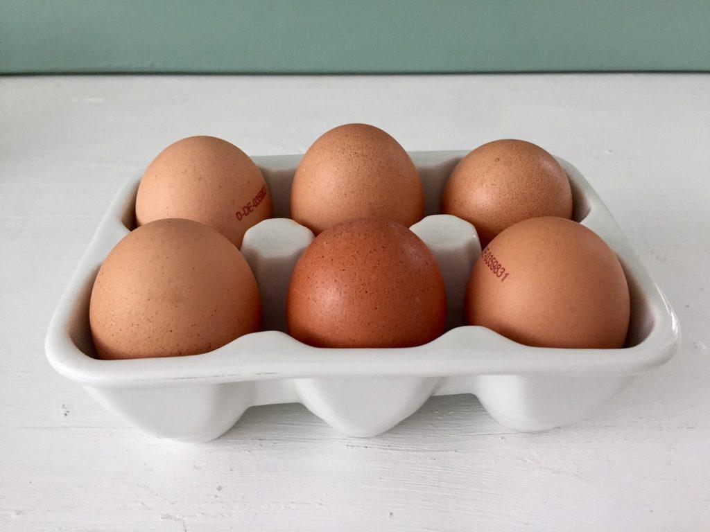 schlank werden mit viel Eierspeisen