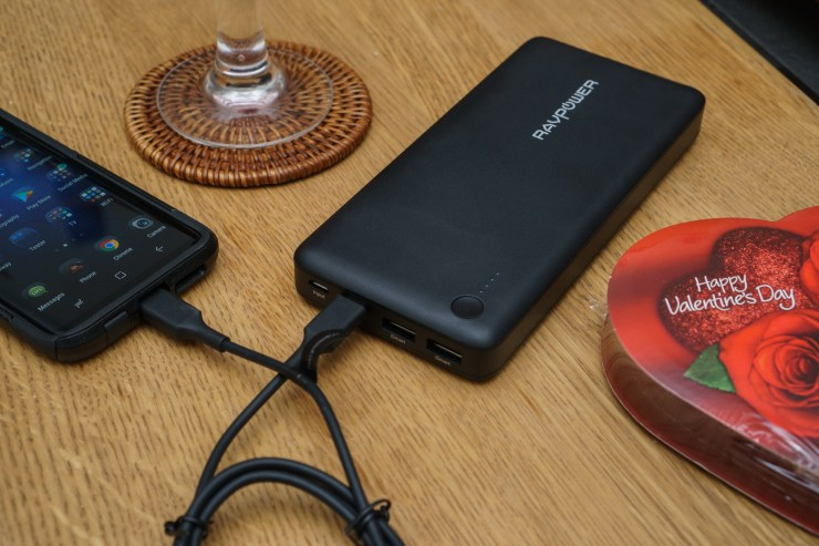 RAVPower Portable Charge Samsung Galaxy Valentine's Day Giveaway