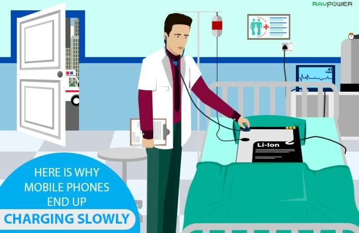Why Phones Charge Slowly Hospital Patient Li-Ion Lithium Ion Li-Po