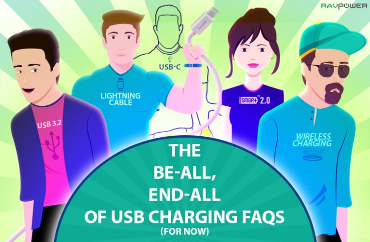 RAVPower USB Charging FAQ USB Guide Help