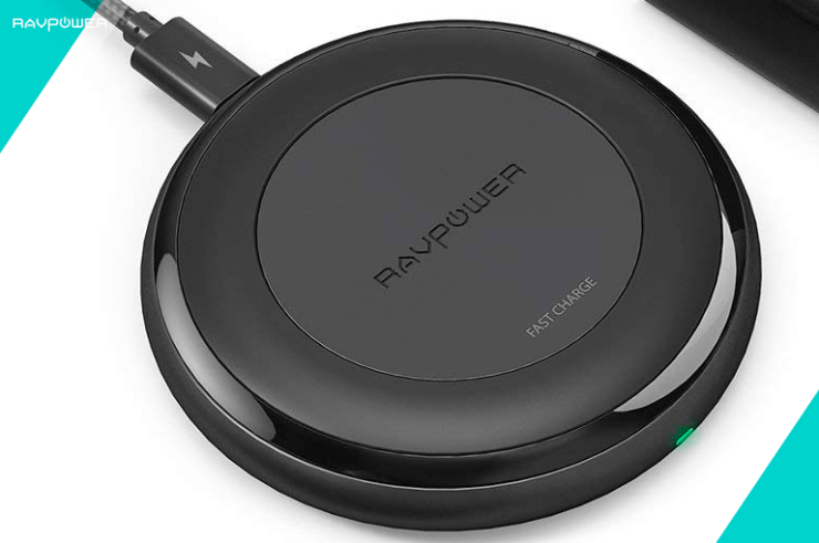 RP-PC034 RAVPower HyperAir Wireless Charger Anker Wireless Charging Pad Wire Free Charge