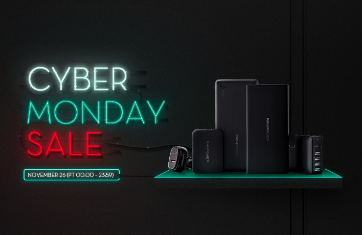 RAVPower Cyber Monday Sale Discounts Giveaway Black Friday Deals