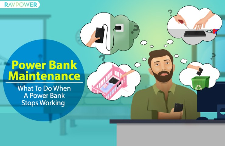 Power Bank Maintenance: What To Do When A Power Bank Stops Working