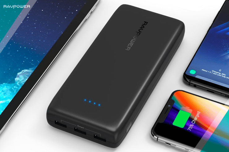 Portable-Charger-32000-RAVPower-32000mAh-Battery-Pack-6A-Output maximizing battery life of new phone