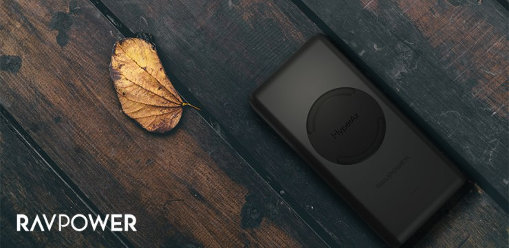 RAVPower's Qi Chargers use HyperAir technology