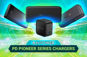 RAVPower Chargers Green Background