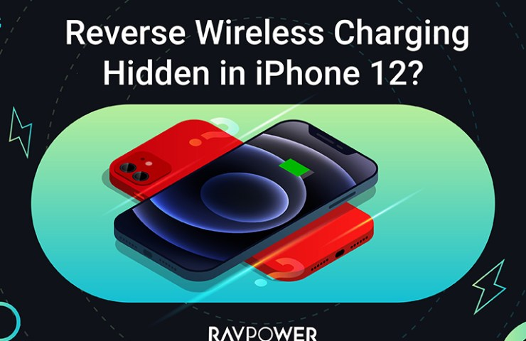 Wireless reverse charging for iPhone 12