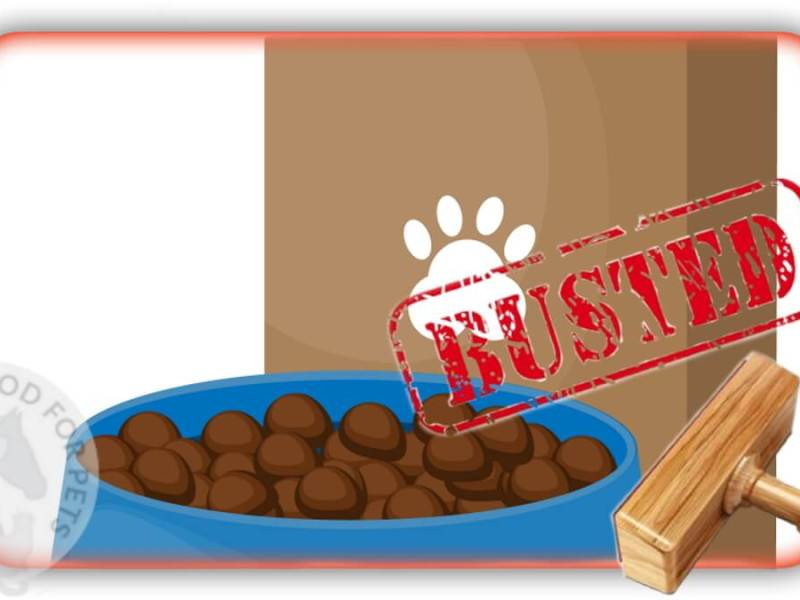 Myth #13 - Your pet can ONLY get the nutrition it needs from dry feed 1