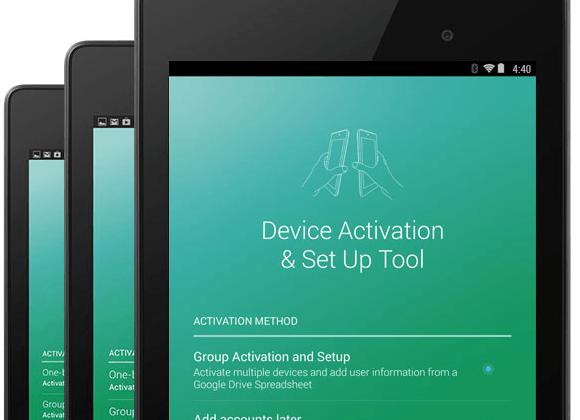 Google Edu Device Setup