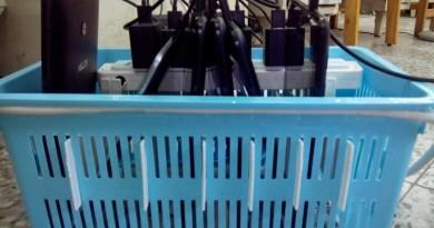 充電小籃子