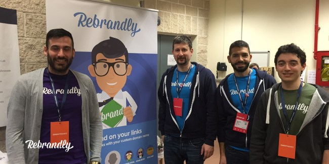 Rebrandly went to Codemotion