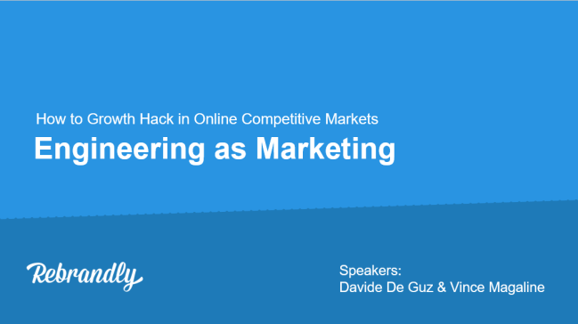 engineering as marketing
