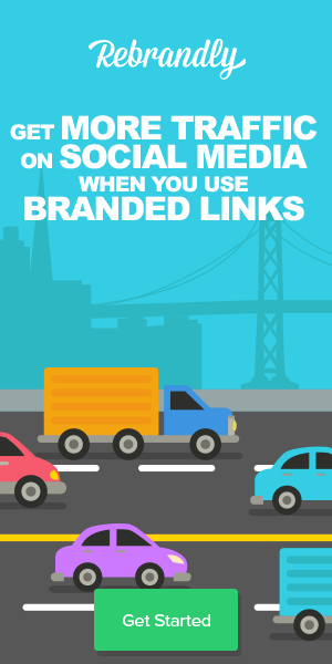 Get more social media Traffic with branded links - Rebrandly
