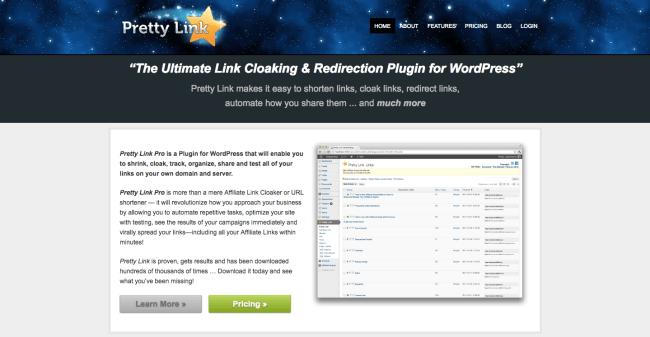 Pretty Link Pro URL Shortener
