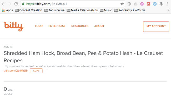 Bitly Public Data