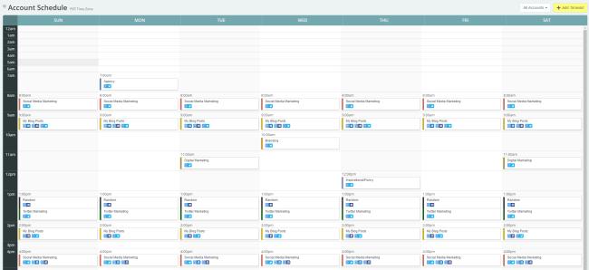 Rebrandly Meet Edgar Content Calendar