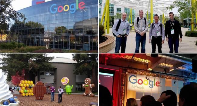 Spinutech Googleplex Visit