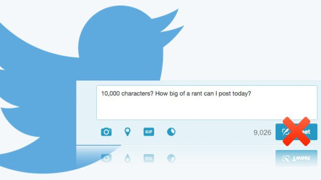 Twitter Character Limit