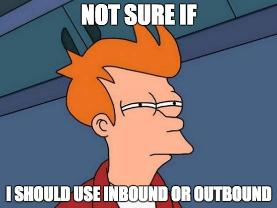 Inbound Marketing or Outbound Marketing