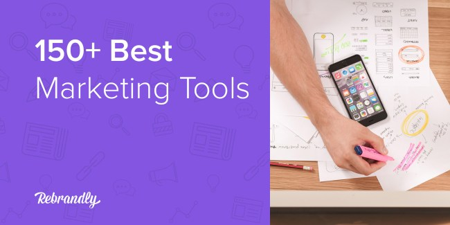150+ Best Marketing Tools