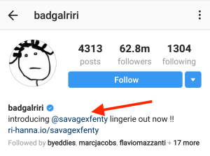 perfect instagram example