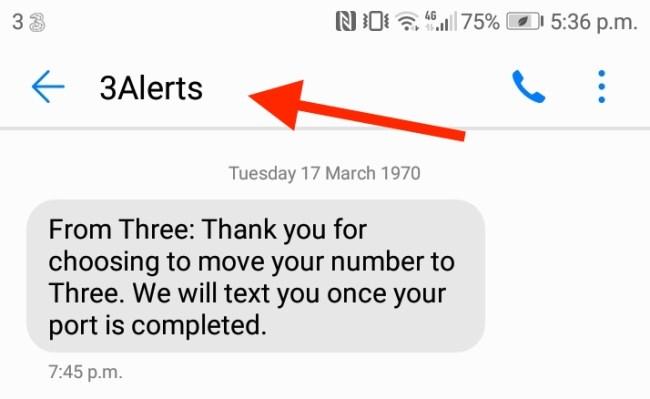 bulk sms example
