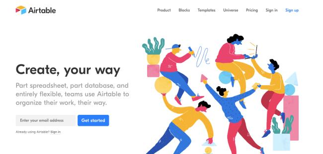 airtable - Productivity App 2019