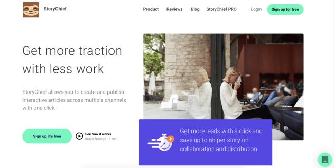 storychief - Productivity App 2019