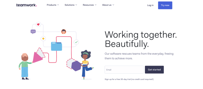 teamwork - Productivity App 2019
