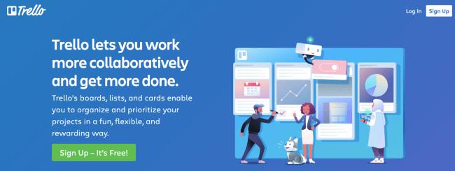trello - Productivity App 2019