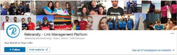 rebrandly on linkedin