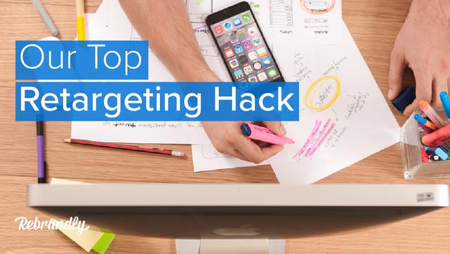 Retargeting hack blog banner
