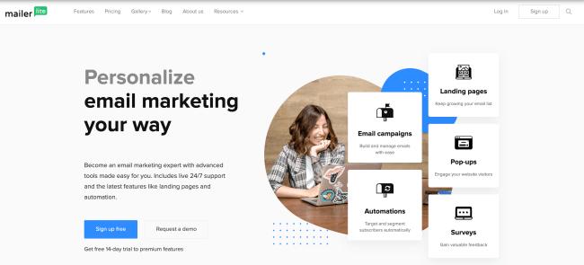 Best Email Marketing Software MailerLite