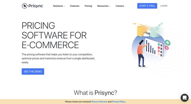 Prisync - best marketing automation software