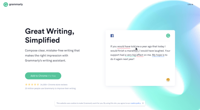 Grammarly - best content marketing tools