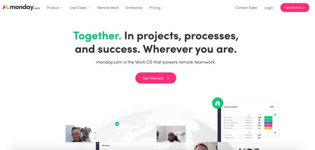 monday task management tool
