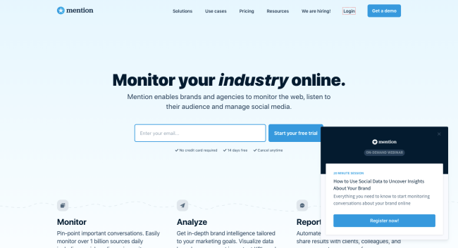 Mention - best content marketing tools