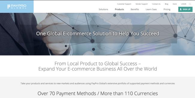 PayProglobal - best e-commerce platforms